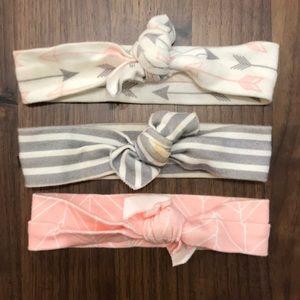 Etsy Organic Baby Headbands